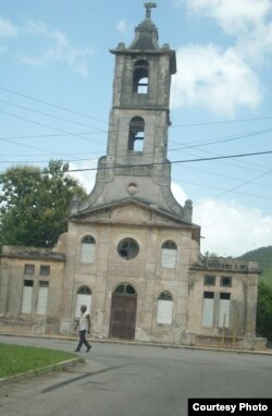 Parroquia de San Miguel Arcángel, en el poblado de San Miguel de los Baños, en la Diócesis de Matanzas, Cuba