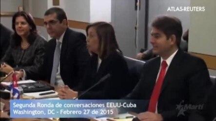 Comienza la segunda ronda de conversaciones EEUU-Cuba.