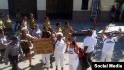 Contacto Cuba - Casos de represión a Damas de blanco y presos políticos