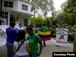 Exigen en Venezuela la renuncia de la Defensora del Pueblo, Gabriela Ramírez.