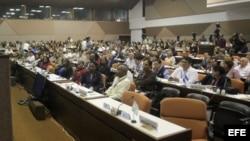 Reunión técnica de especialistas y directivos para la prevención del Ébola, en La Habana (Cuba).