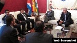 Empresarios cubanos y españoles acuerdan transacciones comerciales el 20 de Mayo entre La Habana y La Rioja.