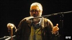 Facundo Cabral en un concierto en Quito