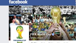 Facebook FIFA Mundial Brasil