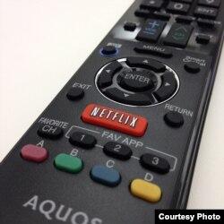 Todas las opciones de Netflix se controlan desde un mando a distancia. Foto: Brain Cantoni.