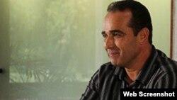 El opositor Eduardo Cardet, coordinador nacional del Movimiento Cubano Liberación.