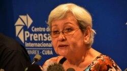 Para opositores cubanos las palabras de la relatora son insultantes
