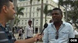 Cubanos opinan sobre la Serie Mundial de béisbol.