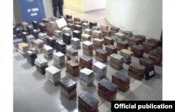 Cocaína procedente de Cuba ocupada por la Policía Nacional de Panamá.