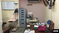 Sede de Cubalex, con oficina sin computadoreas