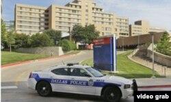Hospital Presbiteriano de Dallas donde falleció el primer paciente con ébola en EEUU.