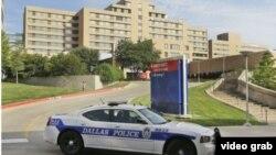 Hospital Presbiteriano de Dallas donde falleció el primer paciente diagnosticado con ébola en EEUU.