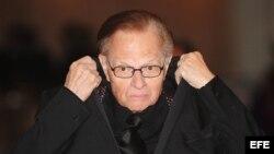 Larry King trabajó como periodista en CNN durante 25 años.
