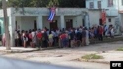 Acto de repudio Colón Matanzas julio 2013.