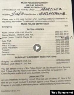 Alex Otaola reportó a la policía de Miami que fue agredido físicamente por Yomil Hidalgo.