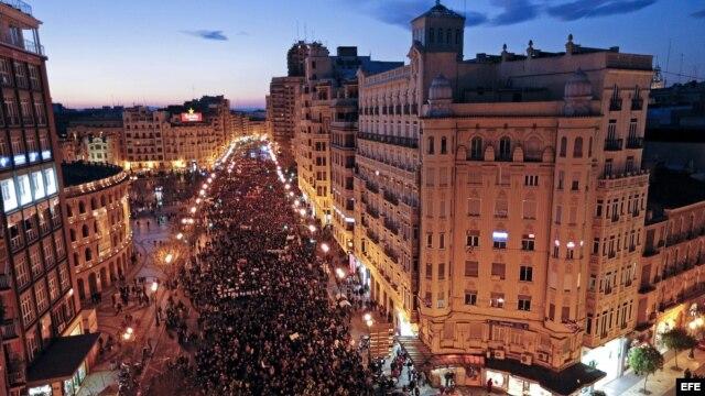 Marchas de protesta en España. 02/23/2013