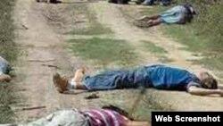 Niños asesinados en las calles de Honduras.