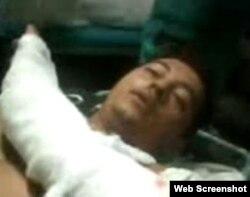 Werlando Leyva hospitalizado en Holguín