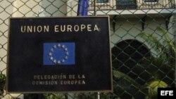 En la imagen el edificio de la delegación de la Comisión Europea en La Habana.