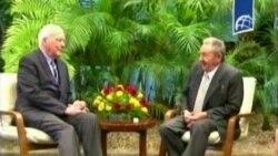 Legisladores estadounidenses terminan gira en Cuba
