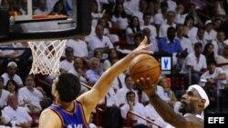 Miami Heat venció al Thunder de Oklahoma.