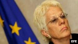 La ex fiscal del Tribunal Penal Internacional para la antigua Yugoslavia (TPIY), Carla del Ponte, ahora investiga los crímenes en Siria