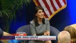 Embajadora de EEUU ante la ONU se reúne con legisladores cubanoamericanos