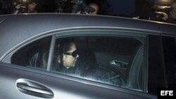 Isabel Pantoja entra a la prisión de Alcalá