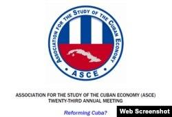 Portada del programa de la 23ra conferencia de la ASCE