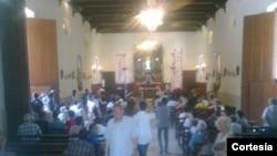 Comienza servicio religioso por la muerte de Oswaldo Payá