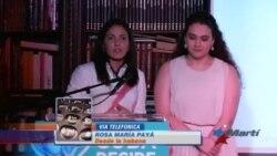 Rosa María Payá prepara en La Habana entrega del premio Oswaldo Payá