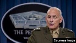 General John Kelly, jefe del Comando Sur.