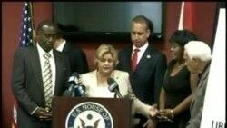 Se reúnen Antúnez y su esposa con legisladores cubanoamericanos