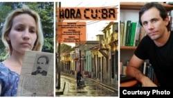 Sol García Basulto y Henry Constantín, diseñadora y director de la La Hora de Cuba.