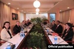 Quinta reunión bilateral Cuba-EEUU.