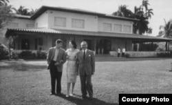 La antigua Finca Kuquine de Fulgencio Batista, hoy casa de visita del PCC.