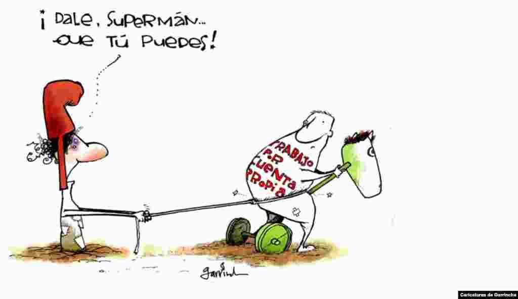 Garrincha sobre el cuentapropismo.