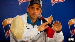 Los resultados de las encuestas apuntan a que no habría mejor opción para la oposición que la de Henrique Capriles.