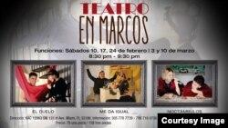 Tres obras de teatro, un director y dos actores cubanos