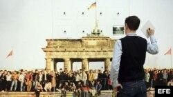 25 Aniversario de la caída del muro de Berlín.