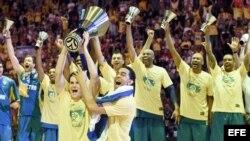 El equipo Maccabi de Tel Aviv derrotó 98-86 al Real Madrid en la final de la Euroliga de básquetbol.