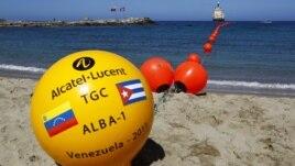 Cable entre Cuba y Venezuela