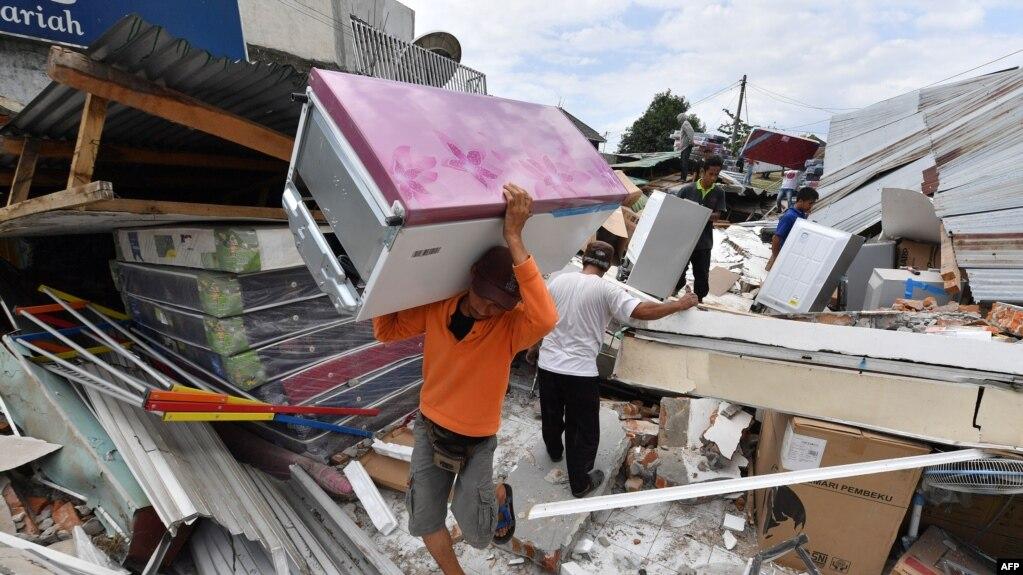 Resultado de imagen para lombok indonesia terremoto
