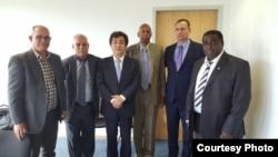 Reunión de opositores cubanos con relator de la ONU
