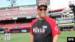 """Atanasio """"Tony"""" Pérez Rigal, miembro de Salón de la Fama de las Grandes Ligas estadounidenses."""