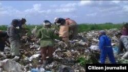 Vivir de la basura en Cuba