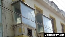 Reporta Cuba. Cierre de sucursal de Radio Ariguanabo en Bejucal. Foto: Misael Aguilar.