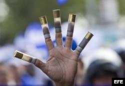 Manifestación histórica pide salida de Ortega del Gobierno.