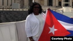 Dama de Blanco Berta Soler participa en encuentro de la RedLat en Honduras