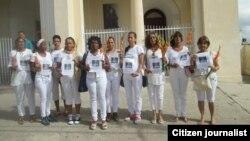 Reporta Cuba. Ciudadanas por la Democracia en Habana.